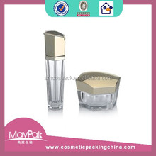 Irregular and strange shape airless cosmetic bottle and jar MP5186