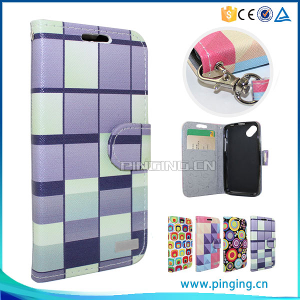 PinJun Wholesale Color Printing Flip Wallet Case For K-Touch Nibiru M1