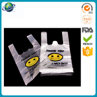 Customized clear plastic carrier bag printed label china pvc handbag