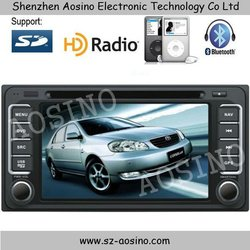 Car DVD Player radio For Toyota Corolla Hilux with Gps navigation