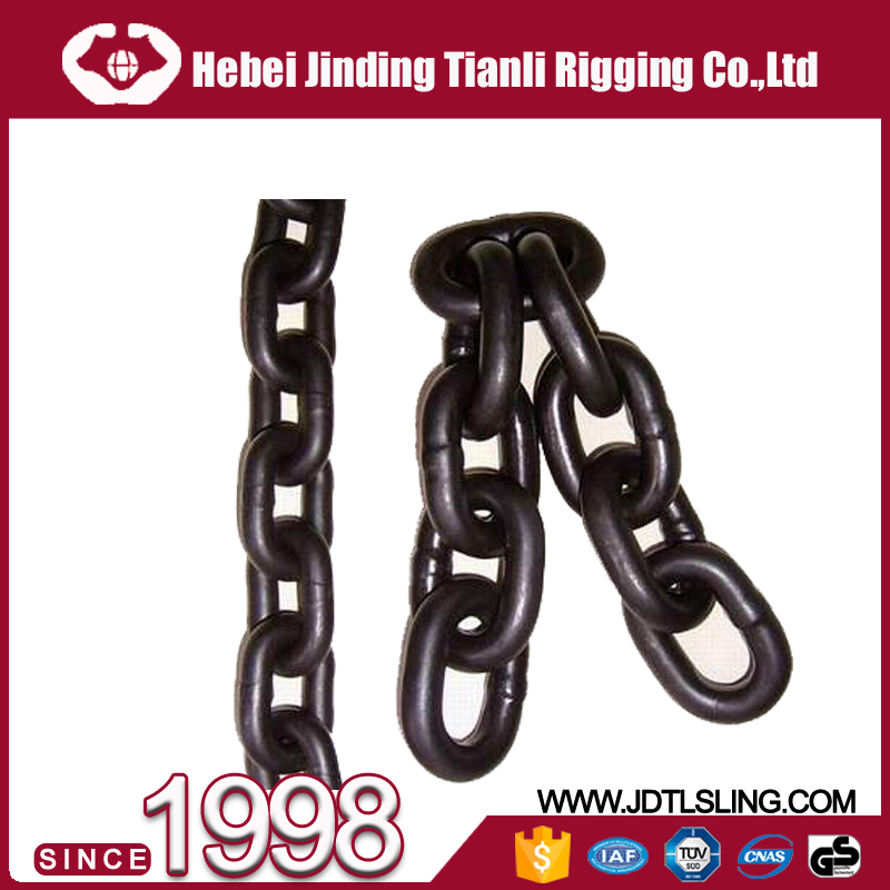 Marine Anchor Chain Cable Studlink Anchor Chain Studless Mooring Chain with Good Price