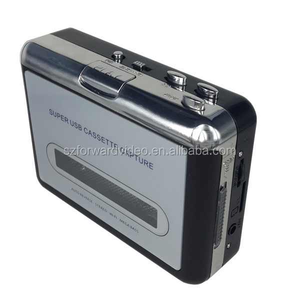 Tape to Micro SD Card, USB cassette player and converter, usb cassette deck -ezcap232