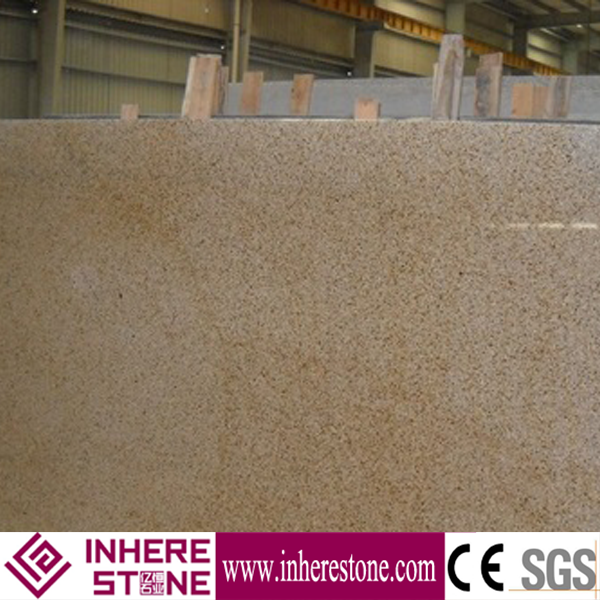 hot sale yellow natural granite garden wall stone