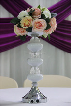 led centerpieces decoration/wedding centerpiece floral acrylic stands/centerpiece votive