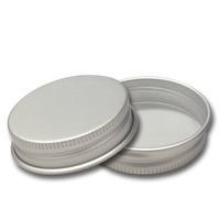 Aluminum cans and lids aluminum screw cap