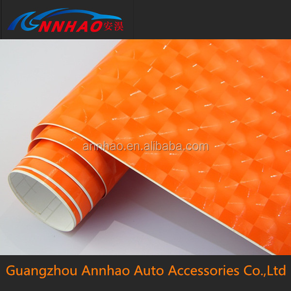 Car Color Changing Vinyl 1.52*30m PVC Material Cat Eye Vinyl Stick Black Bubble Free Wrap