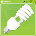 Manufacturer CFL fluorescent 220-240V 12mm 4.0T Half Spiral 32w energy saver