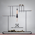 Chinese style Modern writing brush shelf for office decor