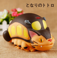custom make durable plastic kid toy piggy bank for sale/custom anime cat car figures money box for educational child gift