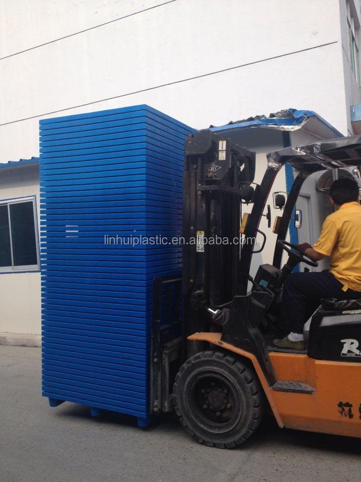 1300*1100*150mm New HDPE plastic pallet Strong plastic pallets for sale with high performance