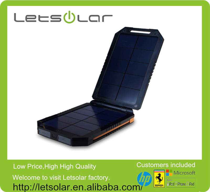 12000mah portable battery charger,solar power bank for all mobile phones and tablets