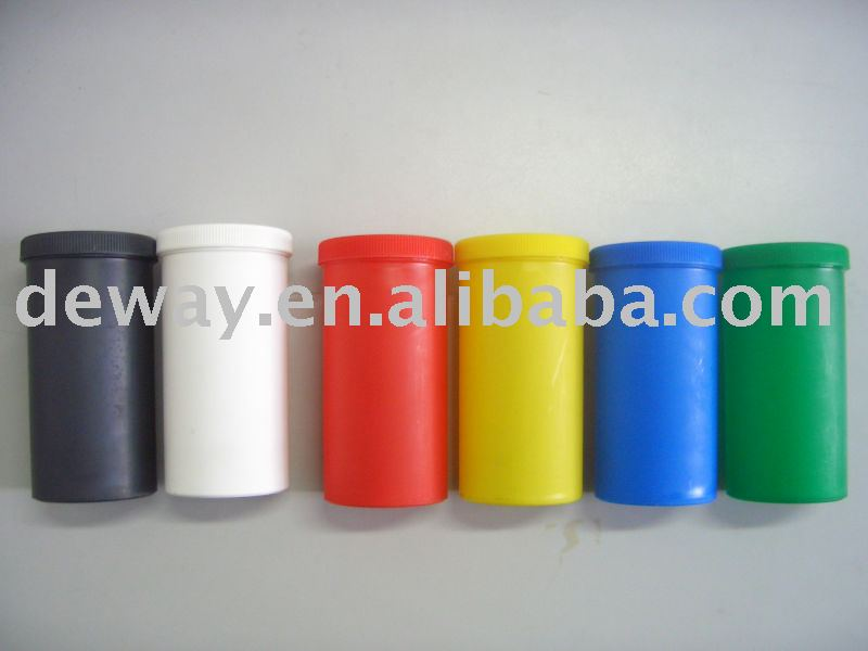 16 oz plastic injection jar plastic round container PS jar