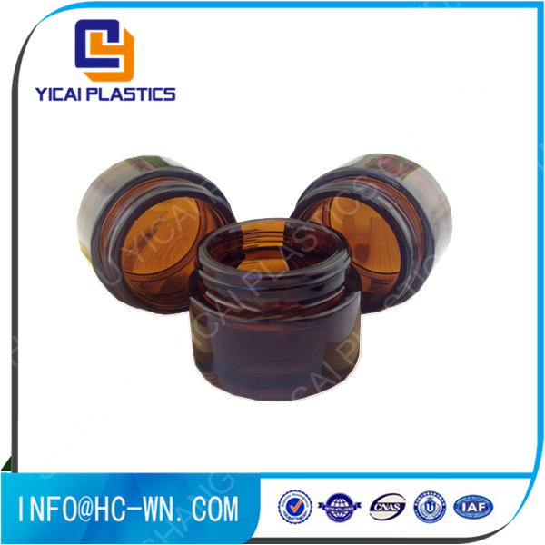 Cosmetic <strong>good</strong> quality new product hot selling glass jar price