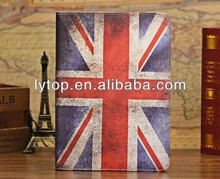 UK Flag Leather Case For iPad Air