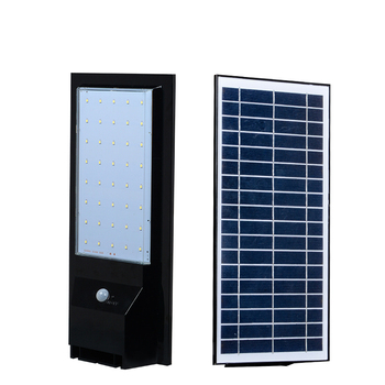 Integrated motion sensor Bridgelux chips outdoor waterproof IP65 6w 9w 14w solar led street light price