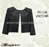 Hot sale fashionable half jackets for dresses