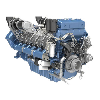 Brand new Weichai Baudouin 12M33 series marine engine