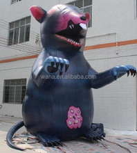 5.4m tall advertising inflatable rat cartoon for promotional/display/decoration/trade/outdoor/yard/exhibition W561