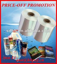 Price-Off Promotion polyolefin shrink film wrap