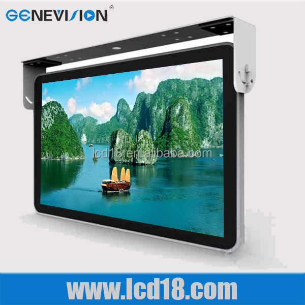 Powerful usb port flat <strong>screen</strong> LCD Advertising Bus TV Monitor