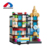 Wholesale 310 pcs city street series hostel model building block doll house toy for children