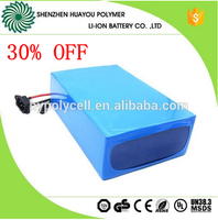 best price hot selling e-bike battery 24 volt/36 volt lithium battery pack 12ah