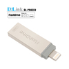 2 in 1 MFI Certified and USB 2.0 OTG Flash Drive Memory Stick Storage Device Hard Disk