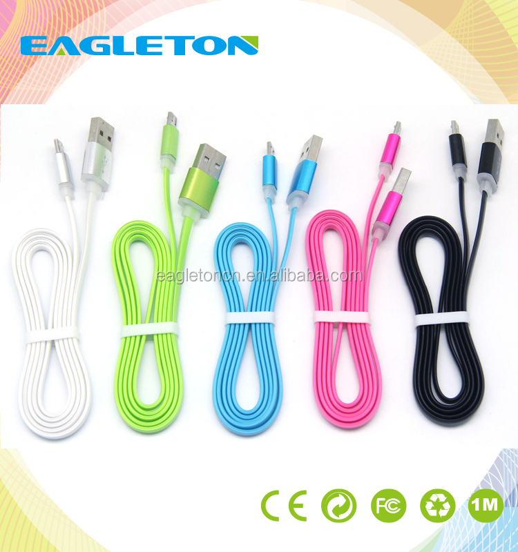 Wholesale USB Date Sync Charging Charger Cable/ Fast Transmit Micro USB Data Cable/ Micro USB Cable