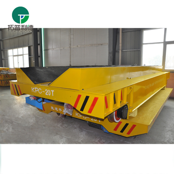 customized copper pipe inter bay transfer bogie for workshop