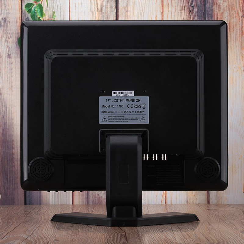 High quality 4:3 square screen hdmi input 17 inch cheap cctv lcd computer monitor
