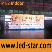 LEDSTAR indoor small pixel led dot matrix display on promotioon 1mm sign board Shenzhen Hot Electronics Co., Ltd