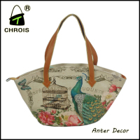 Factory of guangzhou supplier fashion printed ladies bags in china