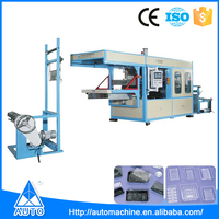 Operating easily automatic vacuum forming machine thermoforming
