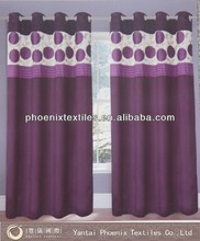 luxury ready made pencil pleat window curtain models