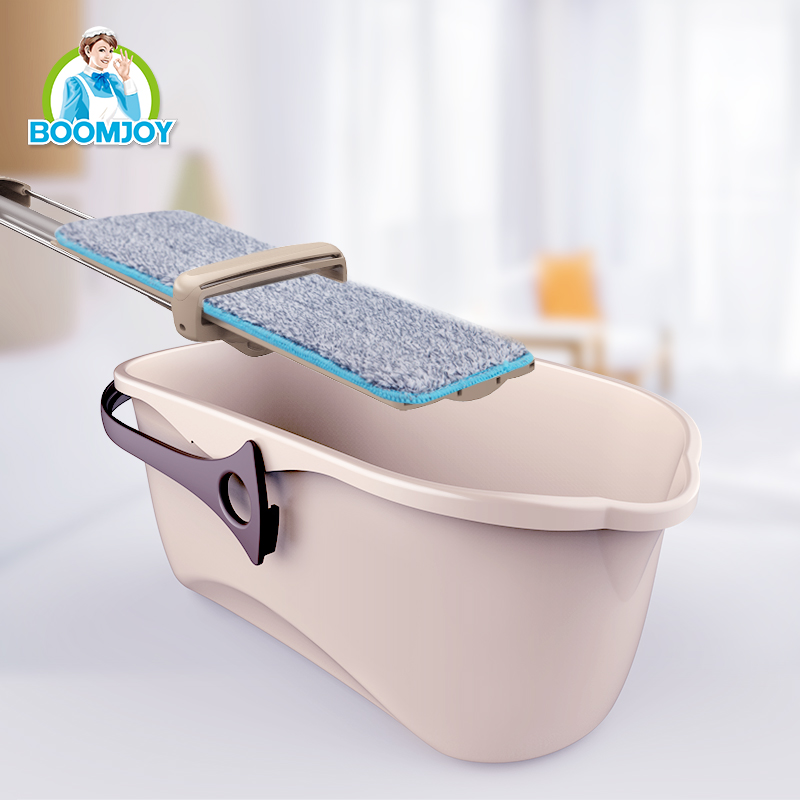 BOOMJOY FT-02 Household easy clean multi-functional plastic water bucket/ best mate for mop