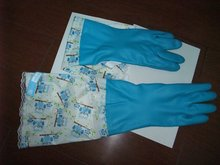 Long sleeve household Rubber Glove(28-45cm length) for cleaning