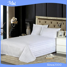 hot sale white cotton used hotel bed sheets manufacturers in China
