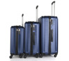 Carry-on Trolley Case Hard side Spinner Suitcase PC+ABS Luggage DC--8808