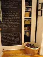 DIY home deco removable chalkboard sticker