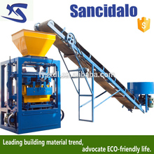 electric and hydraulic system mechanical, concrete manual brick block machine