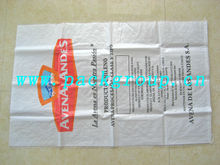 white color virgin material woven polypropylene bags for wheat 100kg size 70x120cm