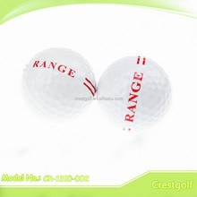 Top quality 2 layer colored driving range golf ball