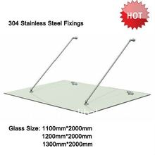 304 Stainless Steel Bracket for Glass Door Canopy