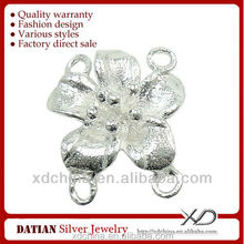 XD X110 925 sterling silver flower connector jewelry connect