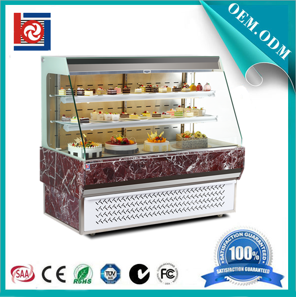 Open type display refrigerator showcase for sandwich