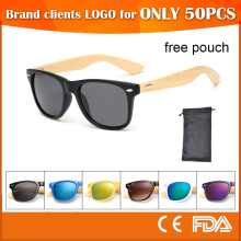 small order custom logo women sunglasses 2017 wooden sun glasses free pouch cat 3 uv 400 wholesale china