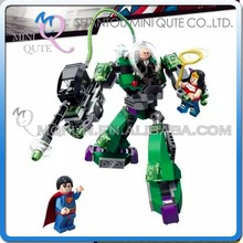 Mini Qute Senye Marvel Avenger super hero Thor superman robot Battle building block action figures educational toy NO.SY 330