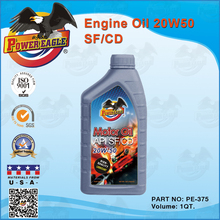 High Performance Engine Oil 20W50 1QT.