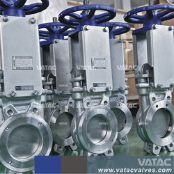 Wafer Type A216 WCB Body Non-Rising Spindle/Stem Knife Gate Valve