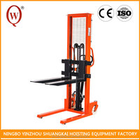 Ultra low profile Superior Hydraulic Manual Pallet Stacker/3M lifting height Pallet Truck/Used Forklift
